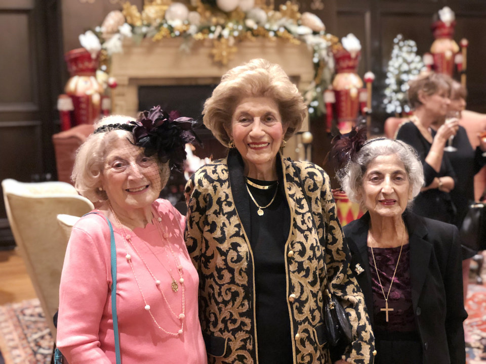 Photo - Blanche David, Katherine Shadid, Imogene Naifeh. PHOTO BY SUSAN HOFFMAN