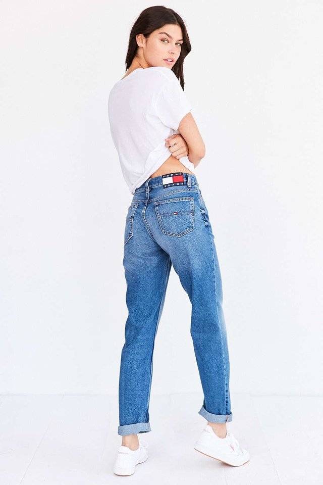 Photo - Tommy Jeans for UO '90s mid-rise mom jean, $139.