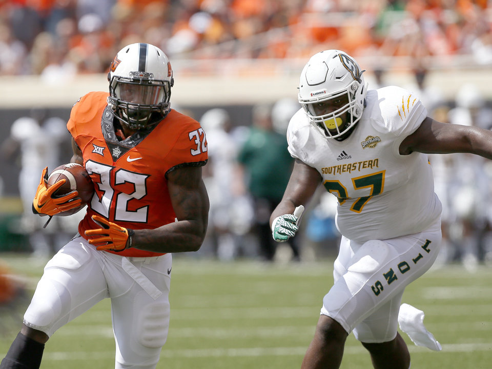OSU football: How Chris Carson has rebuilt his game and ...