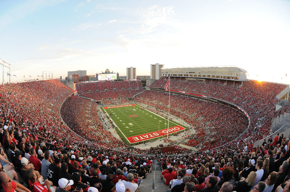 ohio stadium is sacred ground to the buckeyes