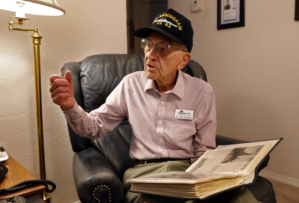 Photo -  World War II veteran William