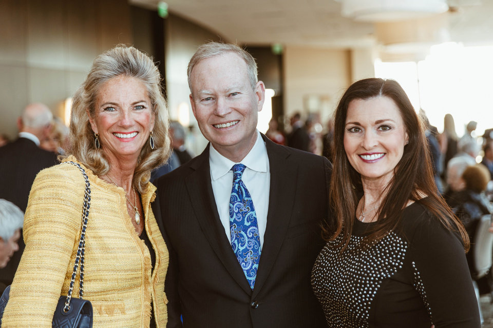 Photo - Marnie Taylor, Mayor Mick and Terri Cornett. PHOTO PROVIDED
