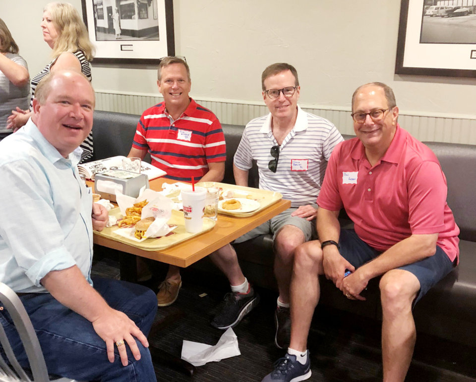 Photo - Chip Burch, Rick WinBlad, Bruce Bobzien, Don Andrews. PHOTO PROVIDED