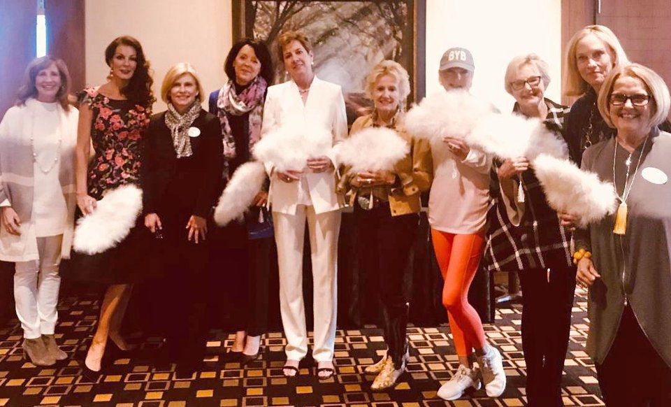 Photo - Claudia Robertson, Linda Slawson, Diane Cooke, Janet Jones, Pam Lane, Inda Burchfiel, Jeannie Strickland, Margaret Ringwald, Nancy Kimberling, Adonna Meyer. PHOTO PROVIDED