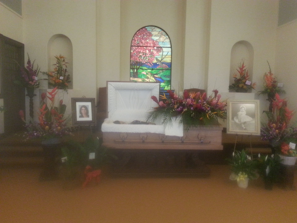 Photo - Reed's funeral. Photo provided.