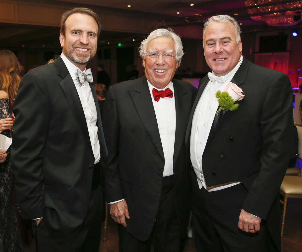 Photo -  Brad Richardson, Gregg Satherlie and Kit Greene. [PHOTO BY NATE BILLINGS, THE OKLAHOMAN]