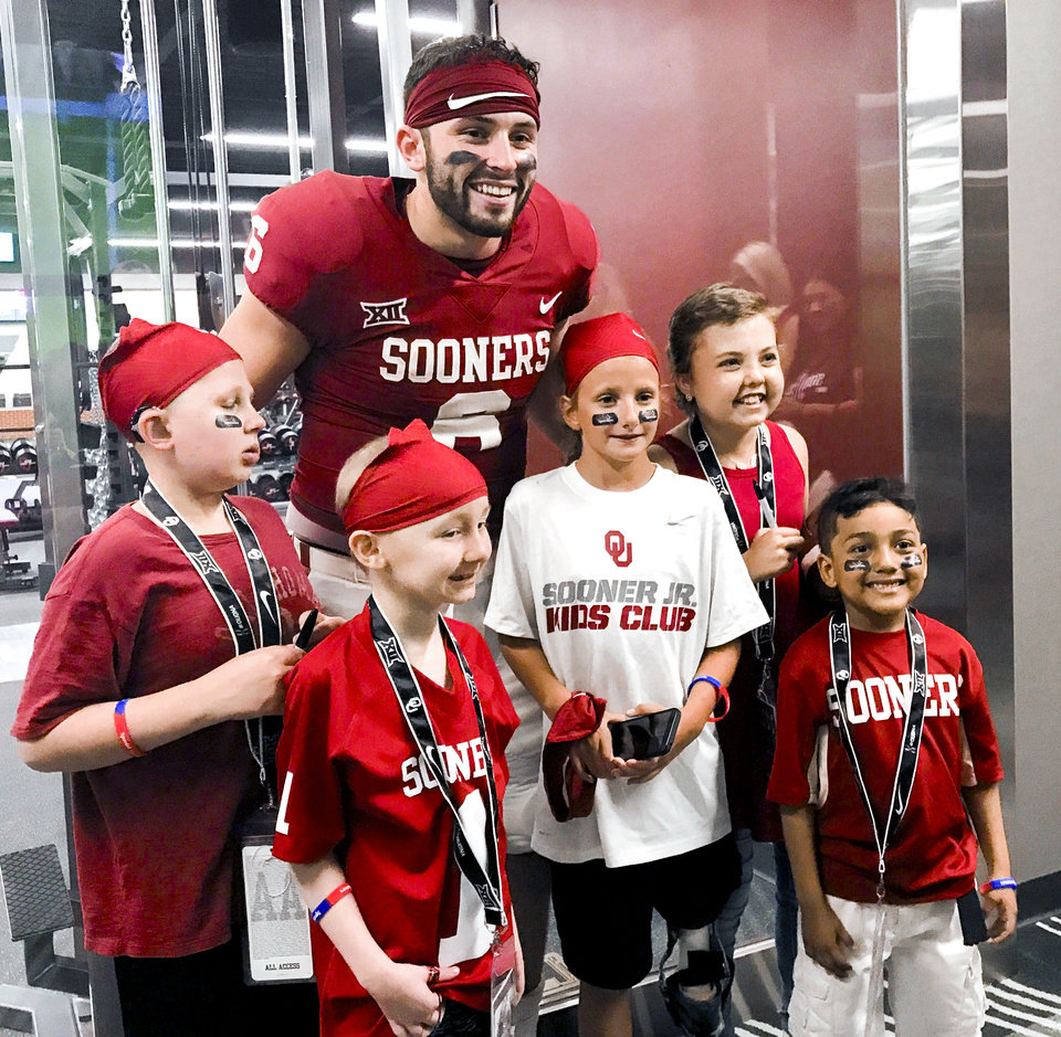 the latest 42500 733af From walk-on to Cleveland: Baker Mayfield through the years ...