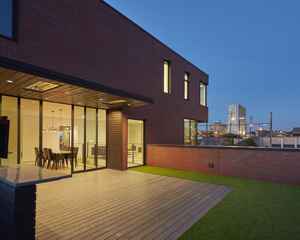 Photo -  Gardner Architects received a Citation Award in the Residential Architecture Category for work on the Price Residence, in downtown Oklahoma City, in the American Institute of Architects Oklahoma Chapter 2017 AIA Oklahoma Design Excellence Awards Program. [PHOTO PROVIDED BY TIM HURSLEY, AIA OKLAHOMA CHAPTER]