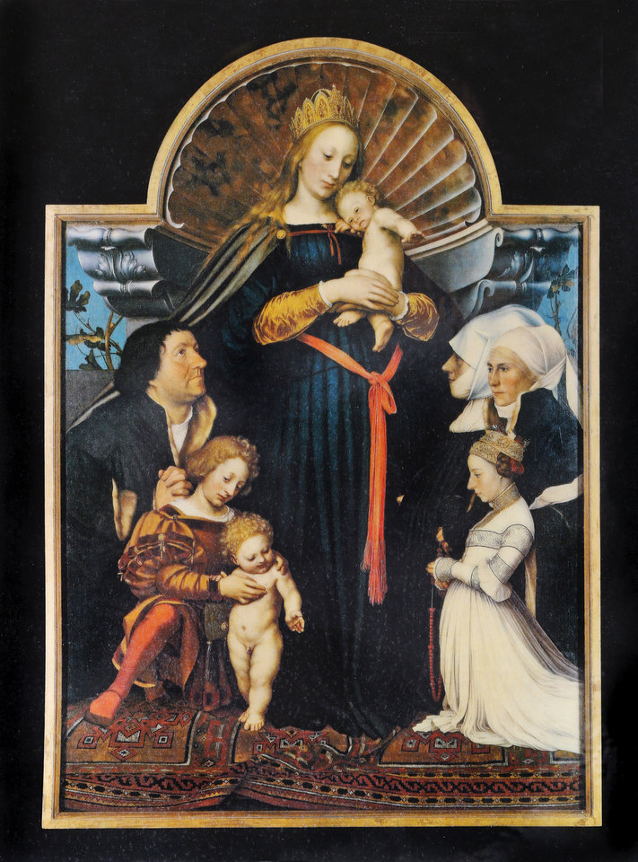 Photo -  Monuments Man Clyde Kenneth Harris helped German Prince Ludwig of Hessen recover millions in lost and stolen art, including The Holbein Madonna. The painting that recently sold for $40 million. Harris later married the prince's cousin. [Provided photo]