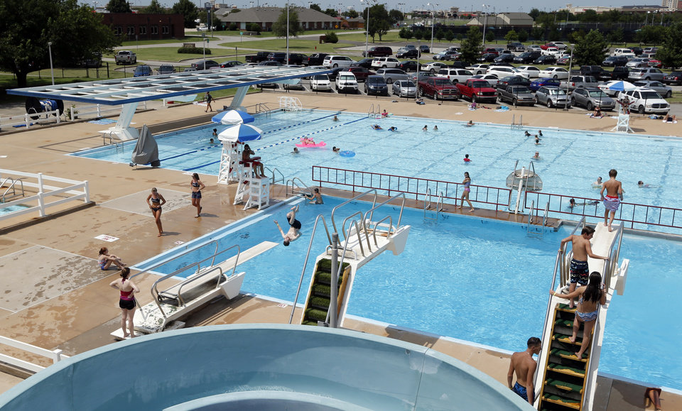 norman closes swim park to make way for new water complex news ok