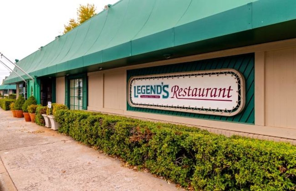 Photo -  Legend's Restaurant in Norman, Okla. on Friday, Oct. 23, 2020. Legend's is preparing to reopen its dining room for the first time since April for its annual Thanksgiving feast. [Chris Landsberger/The Oklahoman]