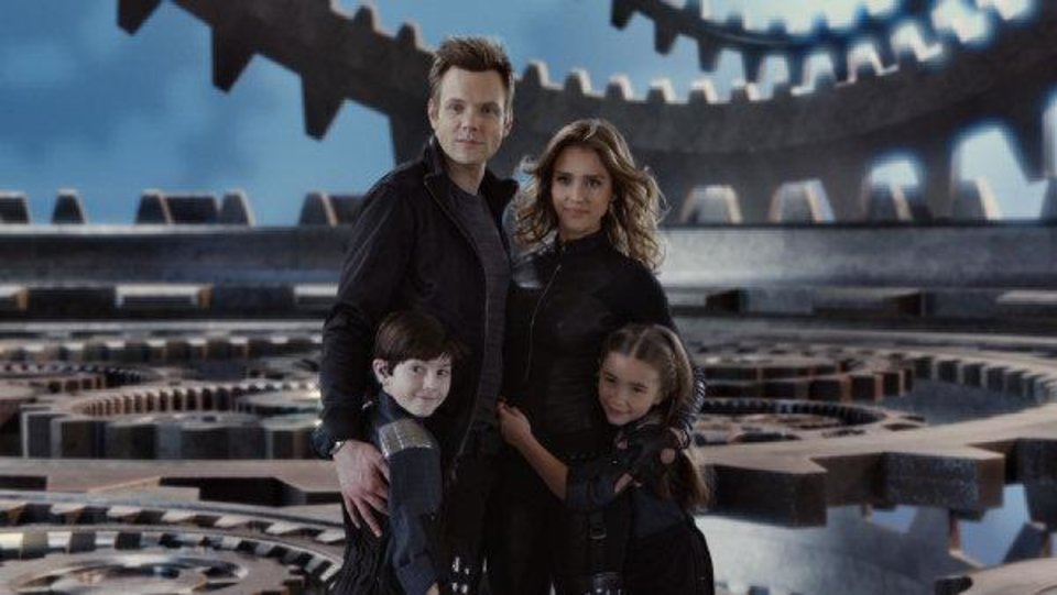 Photo - Clockwise from top: Joel McHale, Jessica Alba, Rowan Blanchard and Oklahoma City native Mason Cook star in