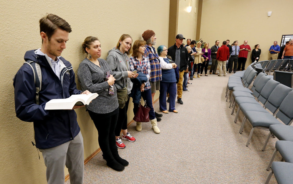 The Opposite Of Assembly : Election oklahomans go to the polls news ok