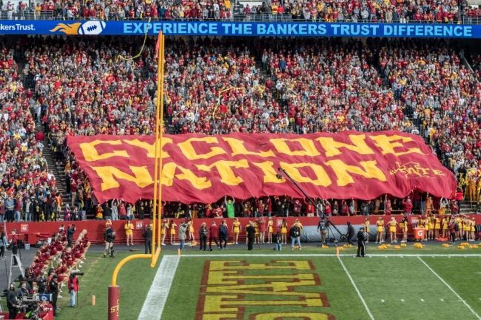 Photo -  Iowa State fans are among college football's most loyal, and now they're being rewarded. [PHOTO COURTESTY OF IOWA STATE ATHLETICS]