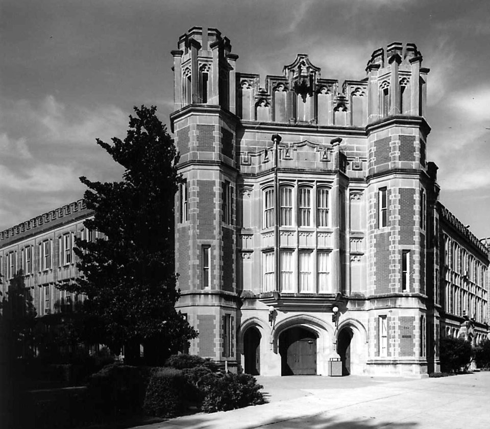Photo - Holmberg Hall opened in 1918.
