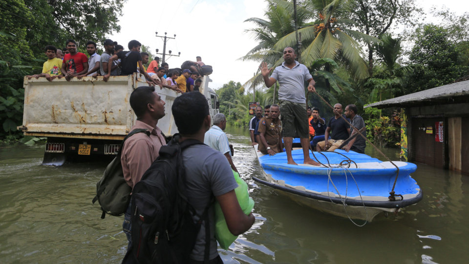 Image result for boats in sri lanka floods