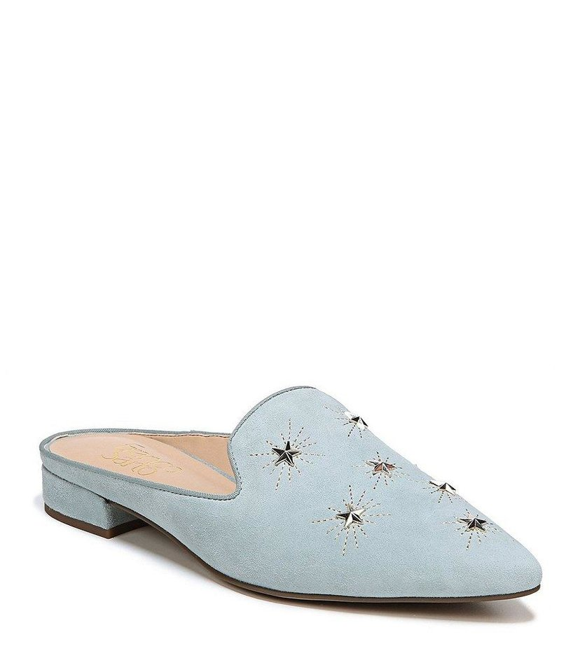 "Photo - Franco Sarto ""Samanta"" star studded mules, $89, at Dillard's."