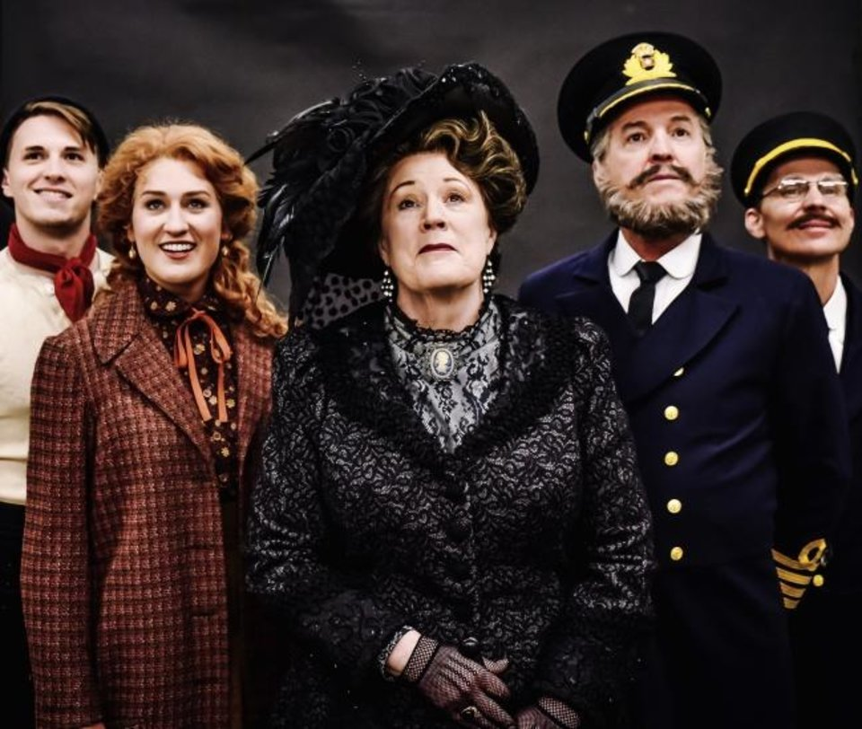 Photo -  Ian Marcontell stars as Frederick Barrett, Jessica Anne Martens as Kate Murphy, Barbara Fox DeMaio as Ida Straus, Jeffrey Ambrosini as Captain E.J. Smith and Charlie Monnot as Harold Bride in Lyric Theatre's