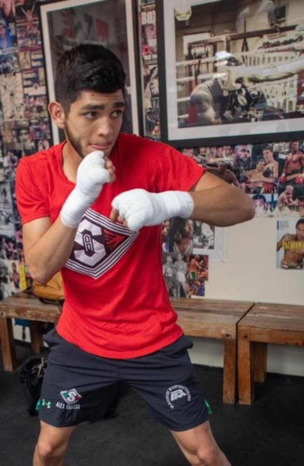 Photo -  Oklahoma City boxer Alex Saucedo had his April 25 fight against Sonny Fredrickson delayed by the coronavirus shutdown. The rescheduled fight Tuesday night will happen in Las Vegas with no fans in the arena. [CHURCHILL BOXING]