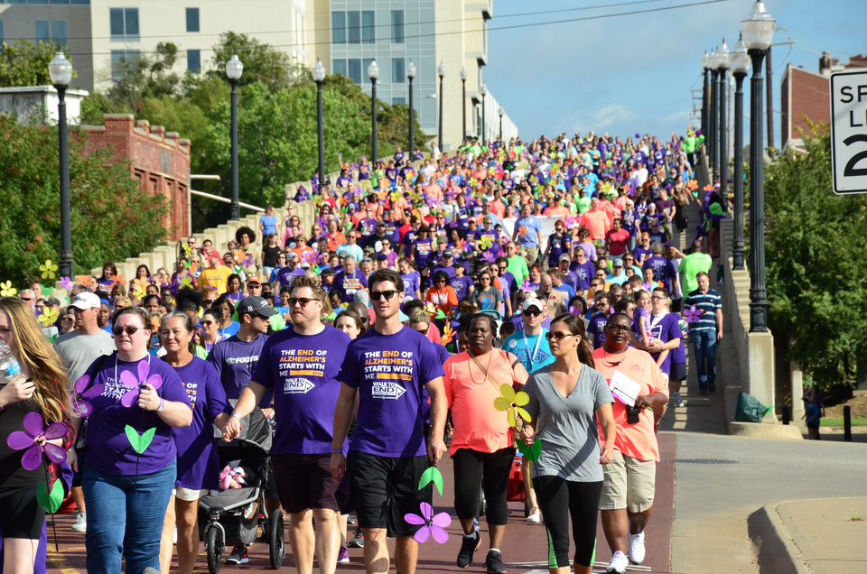 Photo - Oklahoma City is getting ready to Walk to End Alzheimer's. Photo provided.