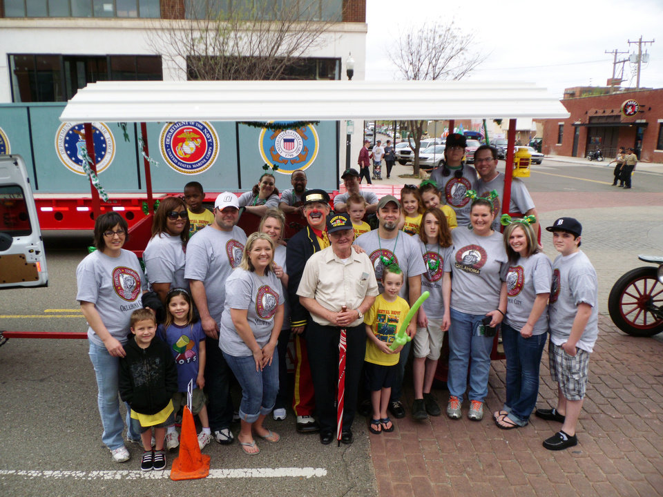 Photo - The Dental Depot team at the St. Patrick's Day parade in Oklahoma City. Photo provided by Dental Depot.