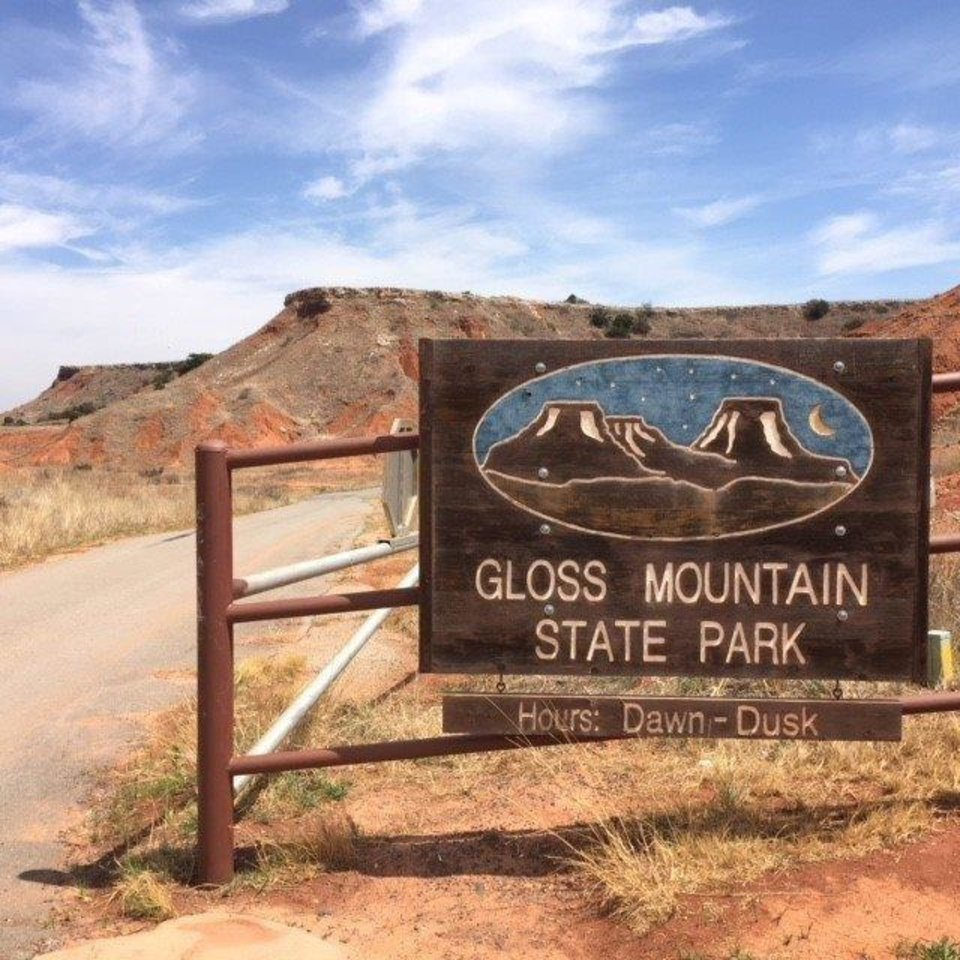 Photo -  Gloss Mountain State Park is an unattended park meaning there is no lodging or campsites. But many times a volunteer can be found there to help visitors. [Oklahoma Tourism]