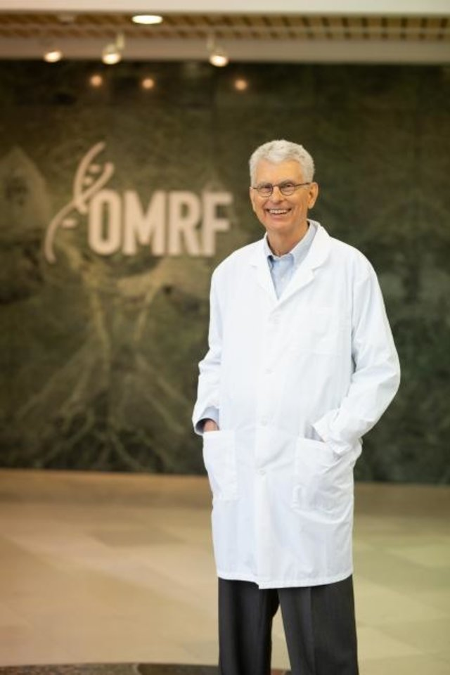 Photo -  The U.S. Food and Drug Administration has approved a new drug to treat sickle cell disease based on discoveries made by OMRF physician-scientist Dr. Rodger McEver. [PROVIDED]