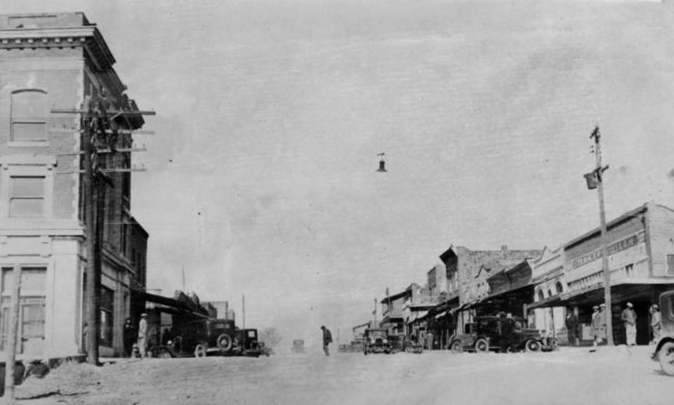 Photo -  Boley is one of state's 13 historic black towns. [THE OKLAHOMAN ARCHIVES]