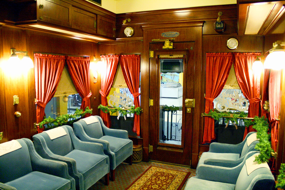 pullman car open for tours through jan 1 news ok. Black Bedroom Furniture Sets. Home Design Ideas