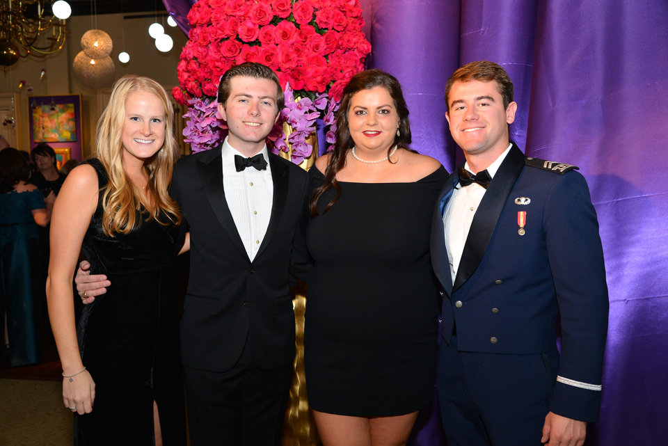 Photo -  Courtney Schweinsberg, Blake Keesee, Katherine Hanstein, and Ford Hossler. [PHOTO BY DAVID FAYTINGER, FOR THE OKLAHOMAN]
