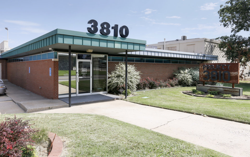 Photo -  Project 3810 is a product-based business incubator at 3810 N Tulsa Ave. [PHOTO BY NATE BILLINGS, THE OKLAHOMAN]