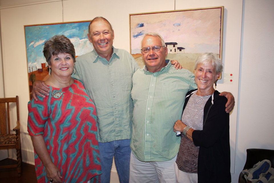 Photo - Laurie and Jim Keffer and Norm and Shirley Foster. PHOTO BY DOUG HOKE, THE OKLAHOMAN
