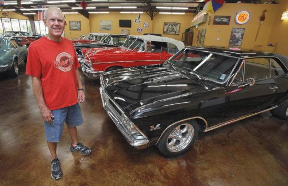Larry Knippelmier Shows Some Of His Clic Car Collection In Blanchard