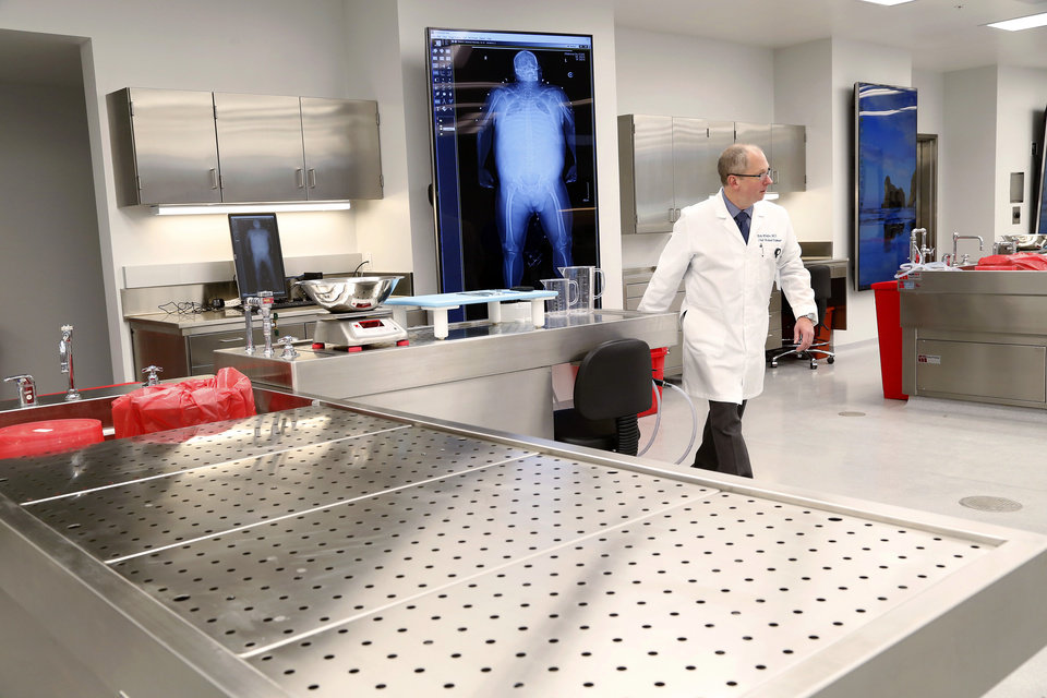 New facility gives state medical examiner's office a fresh ...