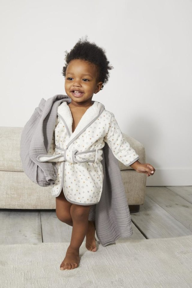 Photo - A robe from the new ED Ellen DeGeneres baby collection. [Photo Provided]