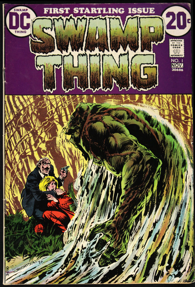 Photo - Swamp Thing 1 [DC Comics]