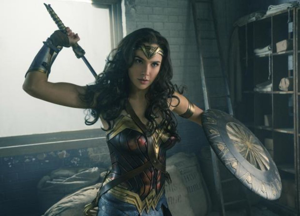 Photo - This image released by Warner Bros. Entertainment shows Gal Gadot in a scene from