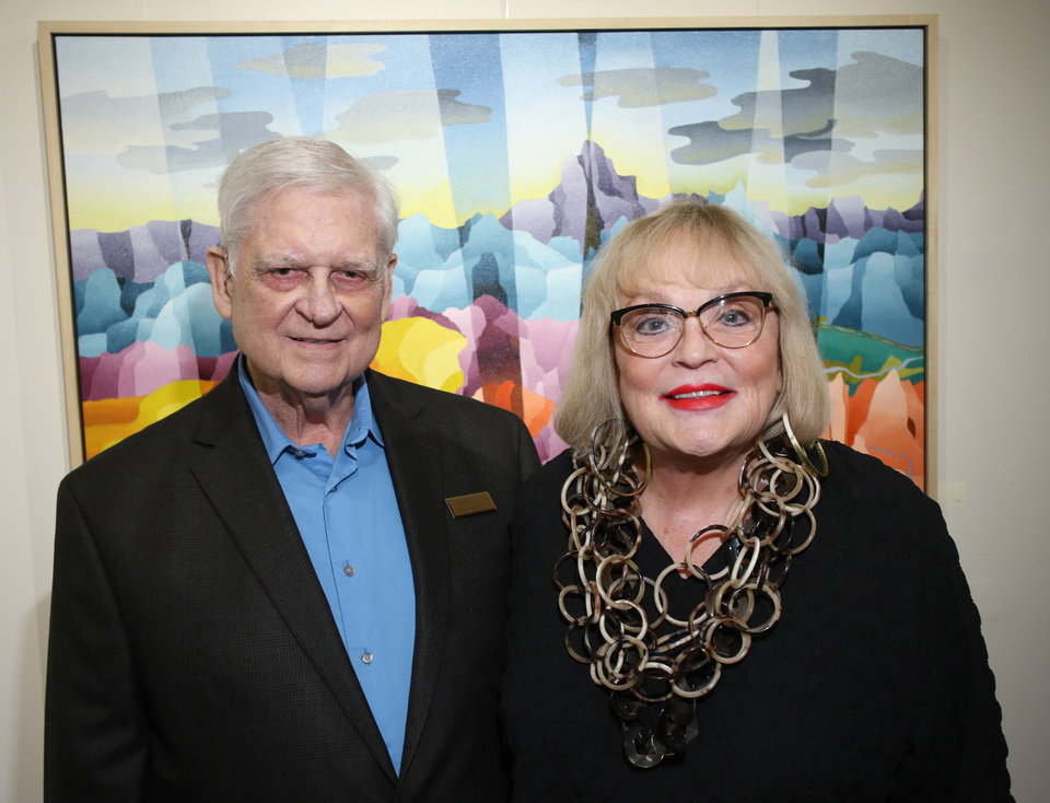 Photo - Bob Nunn, Joy Reed Belt. PHOTO BY DOUG HOKE, THE OKLAHOMAN