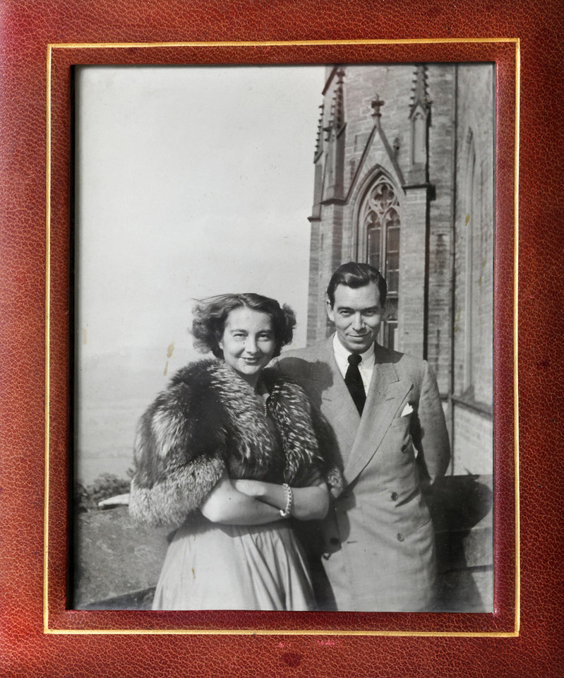 Photo -  Maud native Clyde Kenneth Harris, a Monuments Man, and his wife, Cecilia, a German princess [Provided photo]