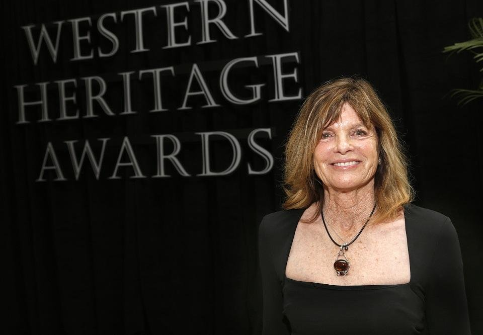 Photo - Katharine Ross poses for a picture April 12, 2014, during the Western Heritage Awards at the National Cowboy & Western Heritage Museum. Ross was inducted that year into the Hall of Great Western Performers. [Photo by Sarah Phipps, The Oklahoman Archives]