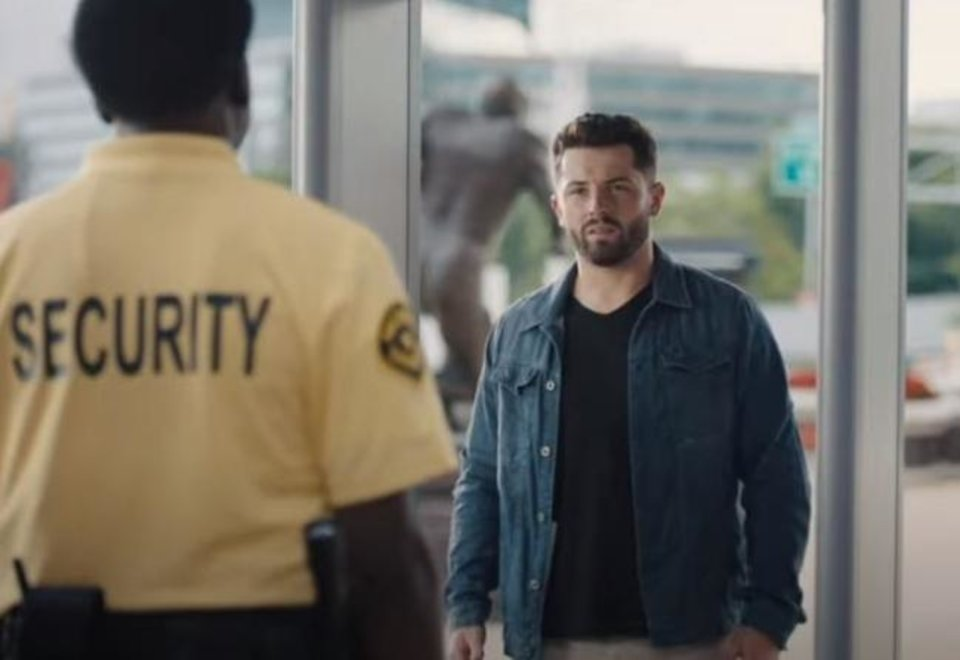 Photo -  Browns quarterback Baker Mayfield has become a marketing star in Progressive Insurance's