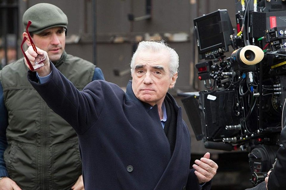 Photo - Martin Scorsese appears on the set of his 2011 film