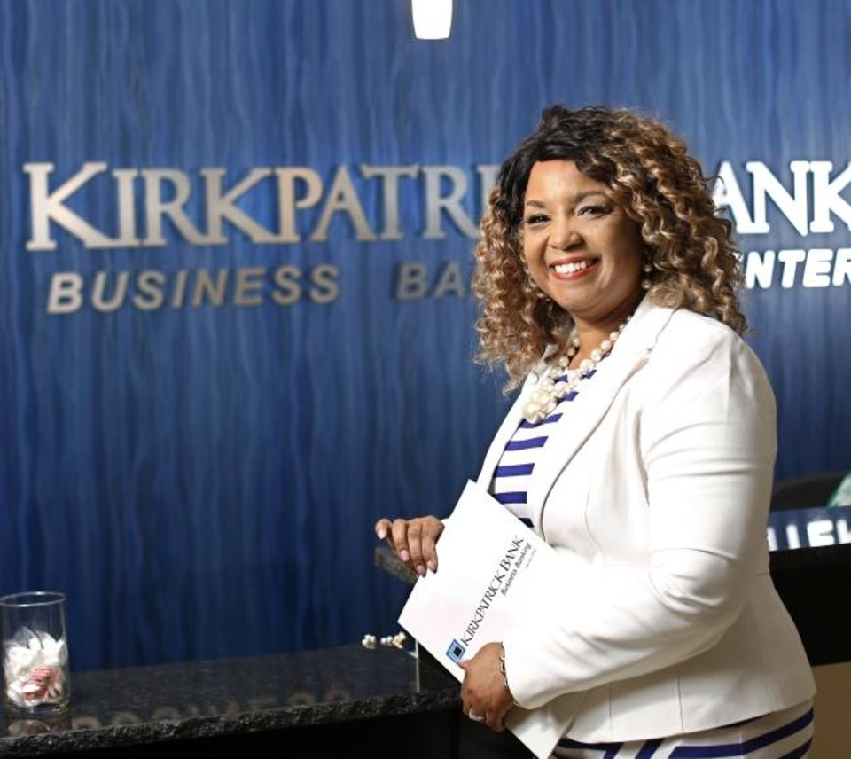 Photo -  Constance Ladd joined Kirkpatrick Bank in February as vice president/mortgage loan officer. [JIM BECKEL/THE OKLAHOMAN]