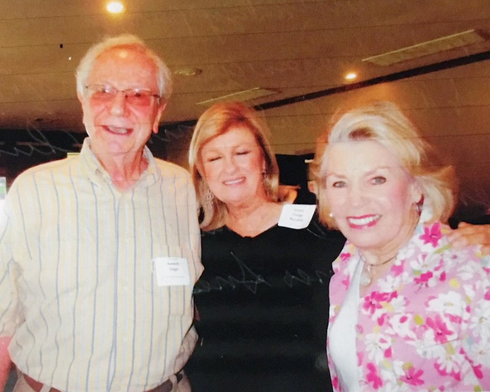 Photo - Ken Feiger, Donna Ensign Marshall, Janie Barnes Sneed. PHOTO PROVIDED