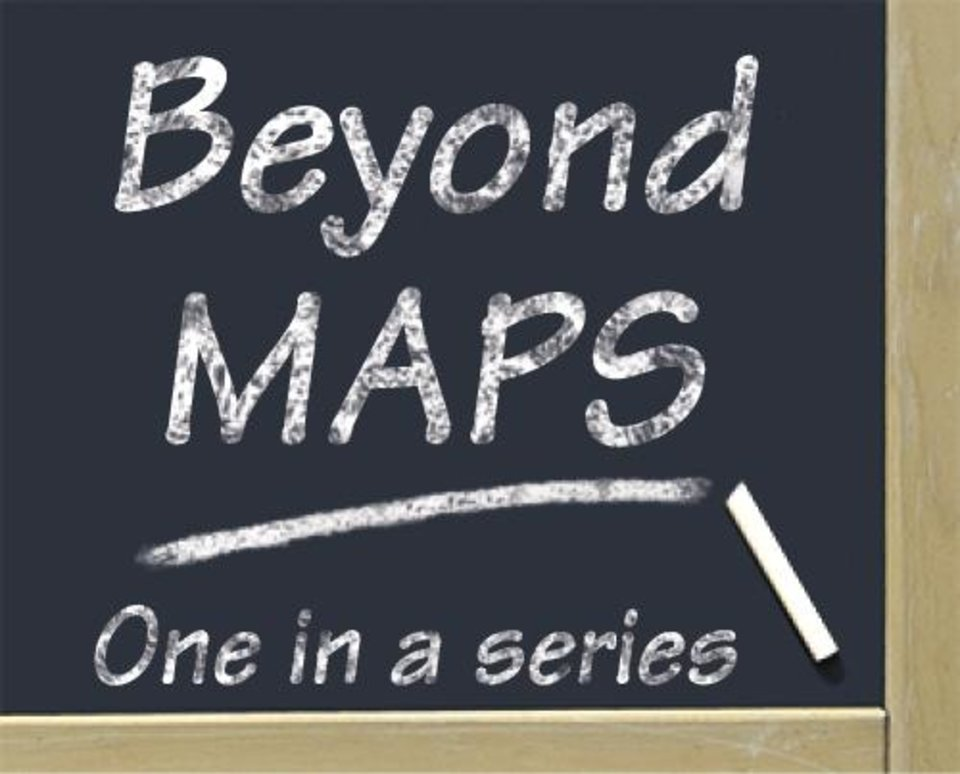 Photo - GRAPHIC / ILLUSTRATION / LOGO: Beyond MAPS - One in a series