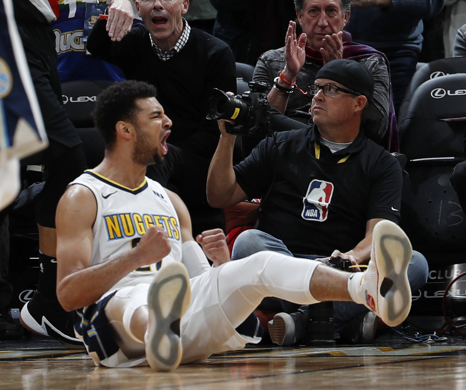 Murray's 38 Points Lead Nuggets Over Trail Blazers 104-101