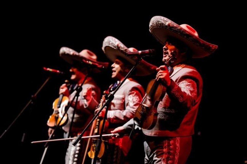 Photo -  The Grammy-winning ensemble Mariachi Los Camperos will perform Feb. 21-22 with the Oklahoma City Philharmonic. [Photo provided]