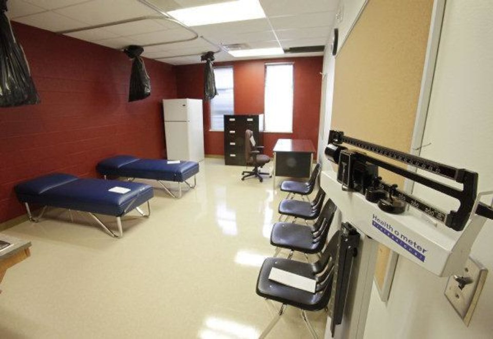The Nurse Station At New Cesar Chavez Elementary School Is More Like A Small Health