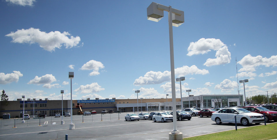 Last car dealership along automobile alley headed for for Mercedes benz of okc