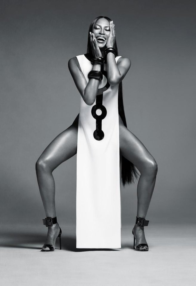 Photo - A shot from the new NARS beauty campaign starring model Naomi Campbell.